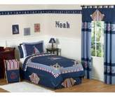 JoJo Designs Sweet Nautical Nights 3-Piece Full/Queen Comforter Set