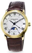 Frederique Constant Classics Watch with Leather Strap, 40mm