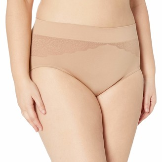 Warner's Warners Women's Plus Size Cloud 9 Seamless Brief Panty