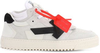 Off-White 35mm 3.0 Suede Low Sneakers