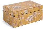 Marks and Spencer Etched Floral Print Trinket Box