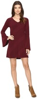 Brigitte Bailey Berne Bell Sleeve Sweater Dress
