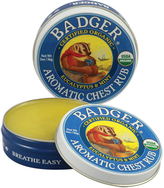 Badger Aromatic Chest Rub by 0.75oz Balm)
