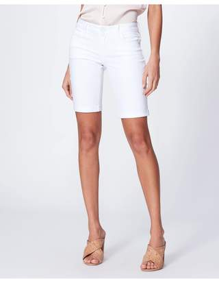 Paige Jax Knee Short - Crisp White