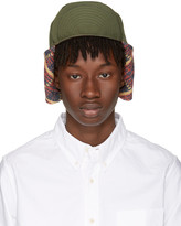 Visvim Green Aviator Hat