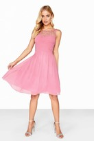 Little Mistress Pink Prom Dress
