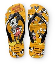 Havaianas Girls' Disney Mickey Mouse Flip Flops - Toddler, Little Kid