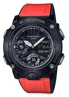G-Shock Men's Digital Resin Strap Watch