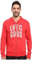 Life is Good Go-To Zip Hoodie