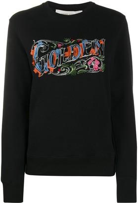 Golden Goose Logo Embroidered Sweatshirt