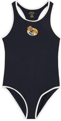 Ralph Lauren Kids Polo Bear Swimsuit (2-4 Years)