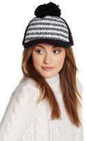 Cara Accessories Boucle Knit Fleece Ball Cap