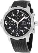 IWC Men's Aquatimer 44mm Rubber Band Steel Case Sapphire Crystal Automatic Analog Watch IW376803