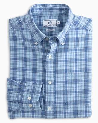 Southern Tide Ocean Point Plaid Button Down Shirt