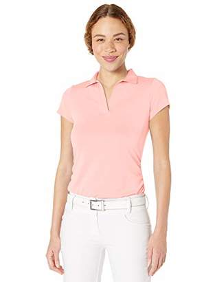 PGA TOUR Women's Short Sleeve Airflux Polo Shirt