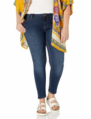 Vigoss Women's Plus Size Edie Super Skinny Jean