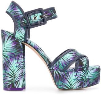 Nicholas Kirkwood ELEMENTS platform sandals 120mm