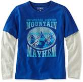 L.L. Bean Boys' Double-Layer Graphic Tee