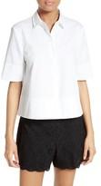 Kate Spade Women's Crop Cotton Shirt
