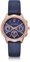 Karl Lagerfeld Optik PVD Rose Goldtone Stainless Women's Chronograph Watch