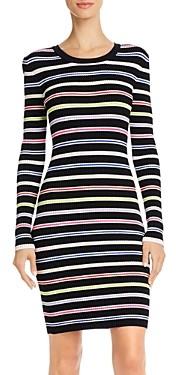 Milly Multi Striped Bodycon Dress