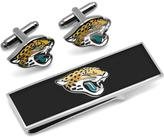 Ice Jacksonville Jaguars Cufflinks and Money Clip Gift Set