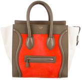 Celine Ponyhair Mini Luggage Tote