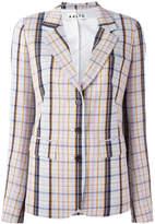 Aalto notched lapel check blazer