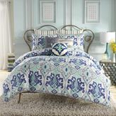 Bed Bath & Beyond AnthologyTM Jolie European Pillow Sham in Blue Stripe
