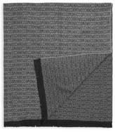 Moschino Logo Monochrome Blanket