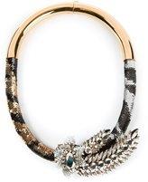 Shourouk 'Tiger Comet' necklace