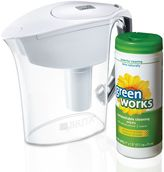 Brita Amalfi Pitcher and 30-Count GreenWorks® Wipes Value Pack