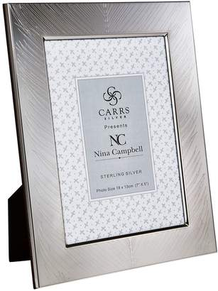"""Carrs of Sheffield Silver Sterling Silver Fern Photo Frame (7""""x5"""")"""