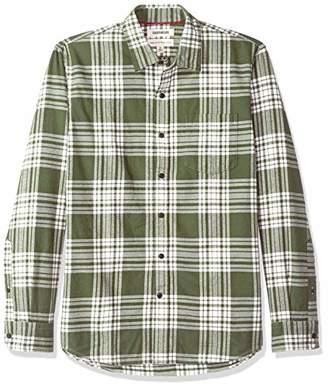 Goodthreads Standard-fit Long-sleeve Brushed Flannel Casual Shirt,(EU L)