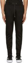 Helmut Lang Black Curved Leg Track Pants