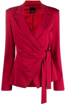 Pinko Wrap-Style Blazer