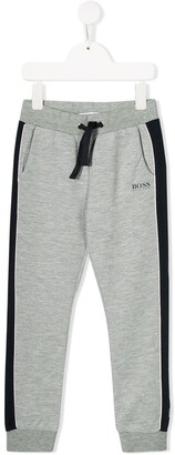 Boss Kids Fitted Track Pants