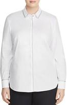 BASLER PLUS Metallic-Trim Shirt