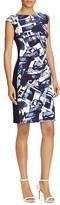 Lauren Ralph Lauren Printed Sheath Dress