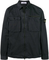Stone Island long sleeve overshirt - men - Cotton - XXL