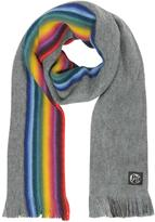 Paul Smith Knitted Wool Reversible Men's Scarf