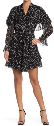 Diane von Furstenberg Martina Dot Print Dress