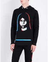 Givenchy Face-print Cotton-jersey Hoody
