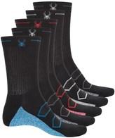 Spyder Half Cushion Socks - 5-Pack, Crew (For Big Boys)