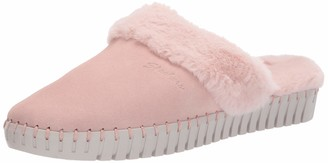 Skechers Women's Sepulveda BLVD-Hang Easy-Faux Fur Lined Slipper