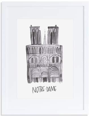 Annie Montgomery Design Notre Dame Print
