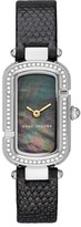 Marc Jacobs Women's The Jacobs Glitz Leather Strap Watch, 20Mm