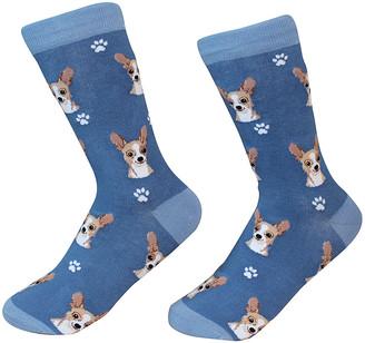 E & S Imports Socks - Fawn Chihuahua Socks