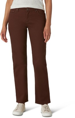Lee Women's Relaxed Fit Straight-Leg Jeans