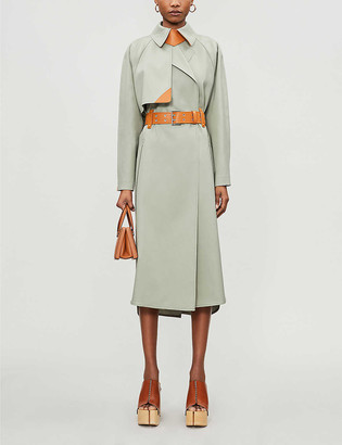Sportmax Flint belted cotton coat